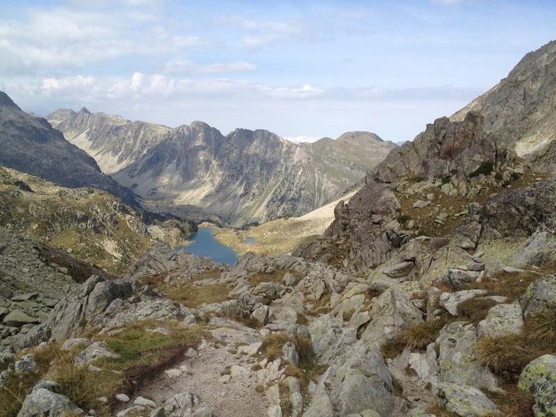 Montagnes dans les Pyrénées