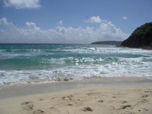 St Barth plage Atlantique