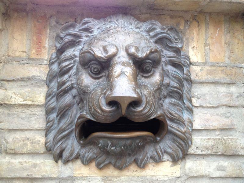 le lion de Huesca